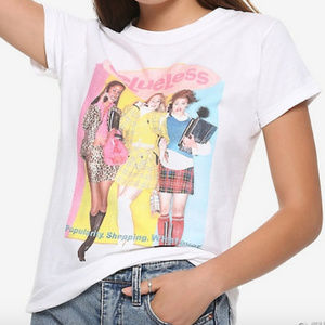 Tops - Clueless Tee Size Large NWT